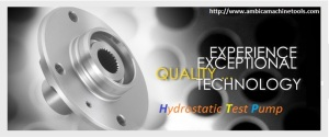 hydrostatic test pump ambica