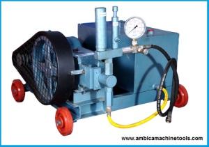 hydro test pump manufacturer