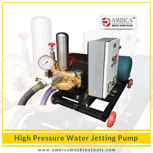 High Pressure Water Jetting Pump Manufacturer